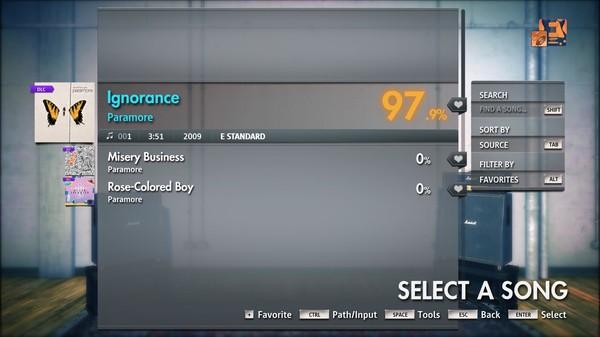 """Скриншот №2 к Rocksmith® 2014 Edition – Remastered – Paramore - """"Ignorance"""""""