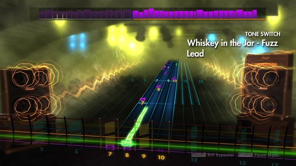 "Скриншот №1 к Rocksmith® 2014 Edition – Remastered – Thin Lizzy - ""Whiskey in the Jar"""