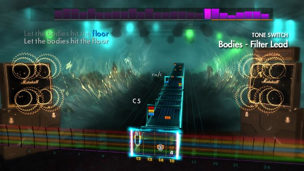 "Скриншот №5 к Rocksmith® 2014 Edition – Remastered – Drowning Pool - ""Bodies"""
