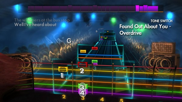 "Скриншот №3 к Rocksmith® 2014 Edition – Remastered – Gin Blossoms - ""Found Out About You"""