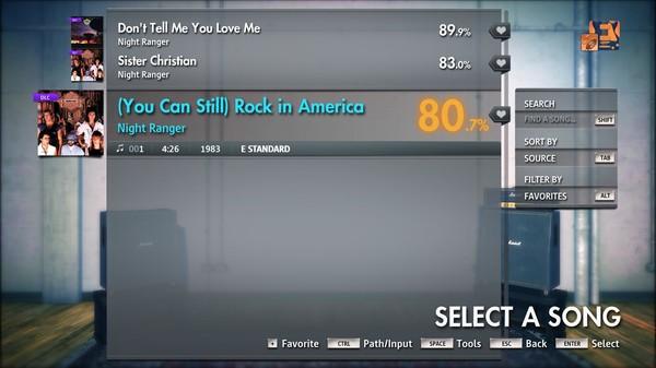 "Скриншот №4 к Rocksmith® 2014 Edition – Remastered – Night Ranger - ""(You Can Still) Rock in America"""