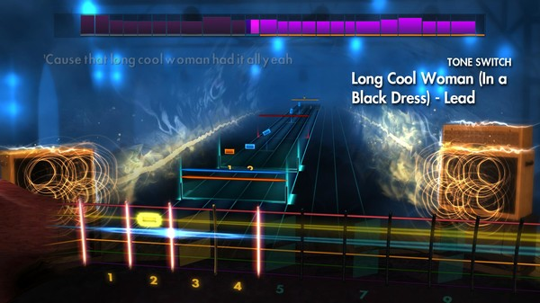 """Скриншот №1 к Rocksmith® 2014 Edition – Remastered – The Hollies - """"Long Cool Woman In a Black Dress"""""""