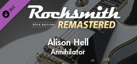 "Rocksmith® 2014 Edition – Remastered – Annihilator - ""Alison Hell"""