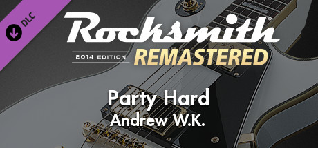 """Rocksmith® 2014 Edition – Remastered – Andrew W.K.- """"Party Hard"""""""