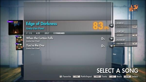 "Скриншот №3 к Rocksmith® 2014 Edition – Remastered – Greta Van Fleet - ""Edge of Darkness"""