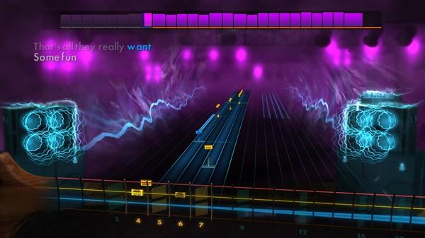 "Скриншот №4 к Rocksmith® 2014 Edition – Remastered – Cyndi Lauper - ""Girls Just Want to Have Fun"""