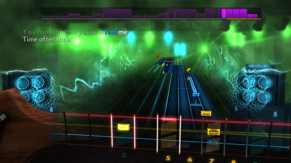 """Скриншот №1 к Rocksmith® 2014 Edition – Remastered – Cyndi Lauper - """"Time After Time"""""""
