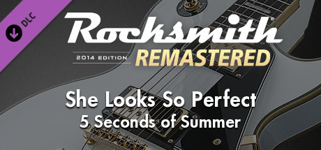 "Купить Rocksmith® 2014 Edition – Remastered – 5 Seconds of Summer - ""She Looks So Perfect"" (DLC)"