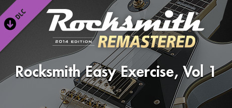 Купить Rocksmith® 2014 Edition – Remastered – Rocksmith Easy Exercises, Vol. 1 (DLC)