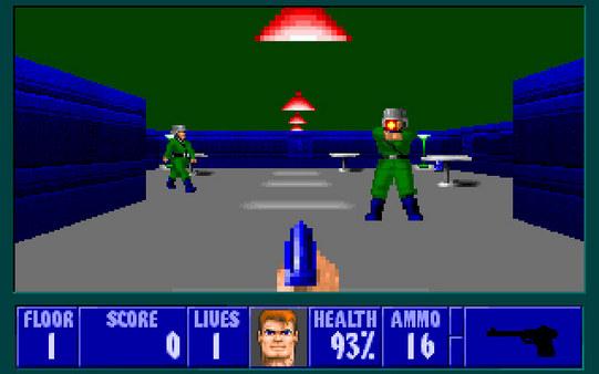 Скриншот из Wolfenstein 3D: Spear of Destiny