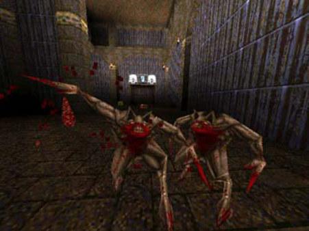 скриншот QUAKE Mission Pack 1: Scourge of Armagon 3