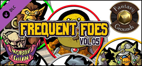 Fantasy Grounds - Frequent Foes, Volume 5 (Token Pack)