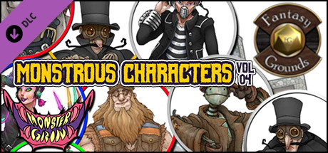 Fantasy Grounds - Monstrous Characters, Volume 4 (Token Pack)