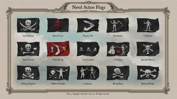 Скриншот №6 к Naval Action - Flags