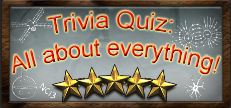 Trivia quiz all about everything on steam quiz allows you to learn a lot about the world develop memory and test your knowledge solutioingenieria Image collections
