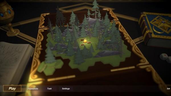 Screenshot of 纸境英雄 Papercraft