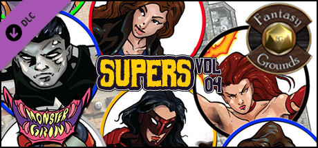 Fantasy Grounds - Supers, Volume 4 (Token Pack)