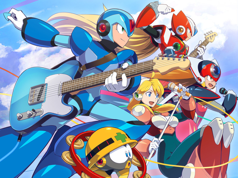 Mega Man X Legacy Collection Soundtrack