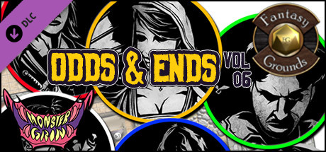 Fantasy Grounds - Odds and Ends, Volume 6 (Token Pack)
