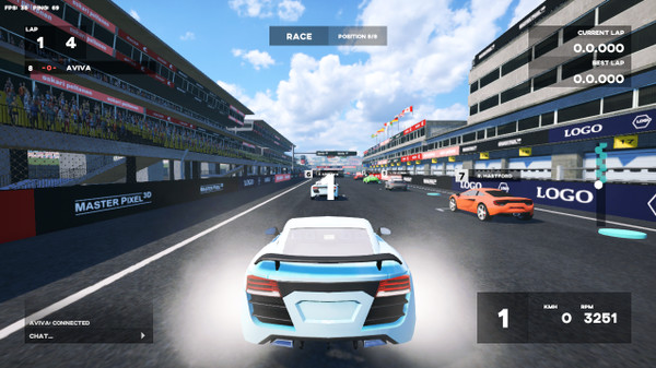 What S On Steam Simple Racing
