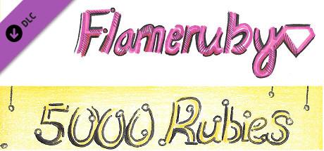 Flameruby: 5000 Rubies Pack 1