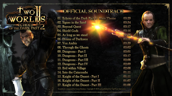 Two Worlds II - Echoes of the Dark Past 2 Soundtrack