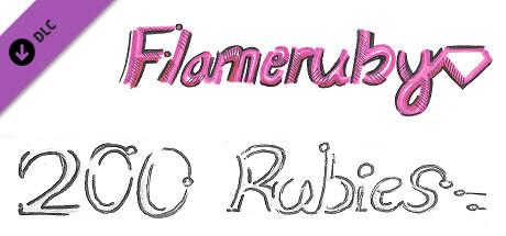 Flameruby: 200 Rubies Pack 2 (DLC)