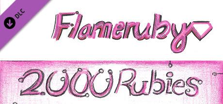 Flameruby: 2000 Rubies Pack 2
