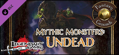 Купить Fantasy Grounds - Mythic Monsters #9: Undead (PFRPG) (DLC)
