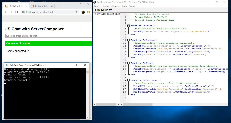 ColdByte Server Composer