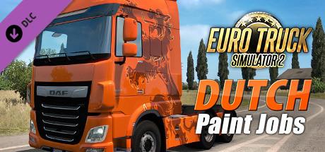 Купить Euro Truck Simulator 2 - Dutch Paint Jobs Pack (DLC)