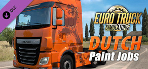 Euro Truck Simulator 2 - Dutch Paint Jobs Pack cover art