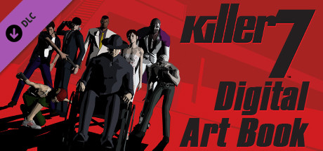 killer7: Digital Art Booklet