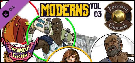 Купить Fantasy Grounds - Moderns, Volume 3 (Token Packs) (DLC)