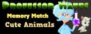 Professor Watts Memory Match: Cute Animals