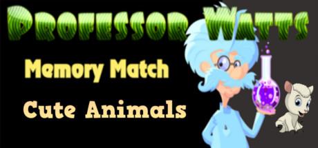 Купить Professor Watts Memory Match: Cute Animals