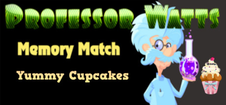 Professor Watts Memory Match: Yummy Cupcakes