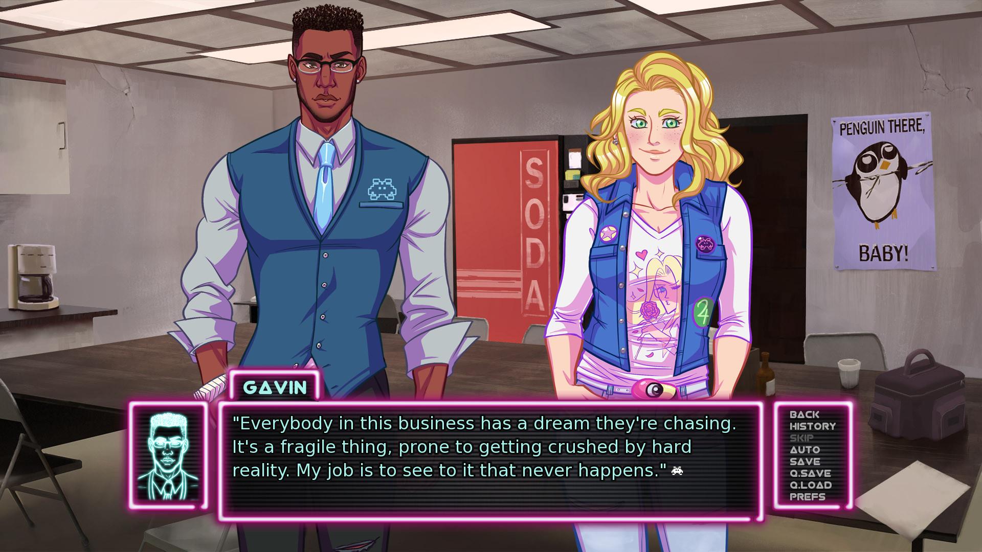 Dwindle dating sim