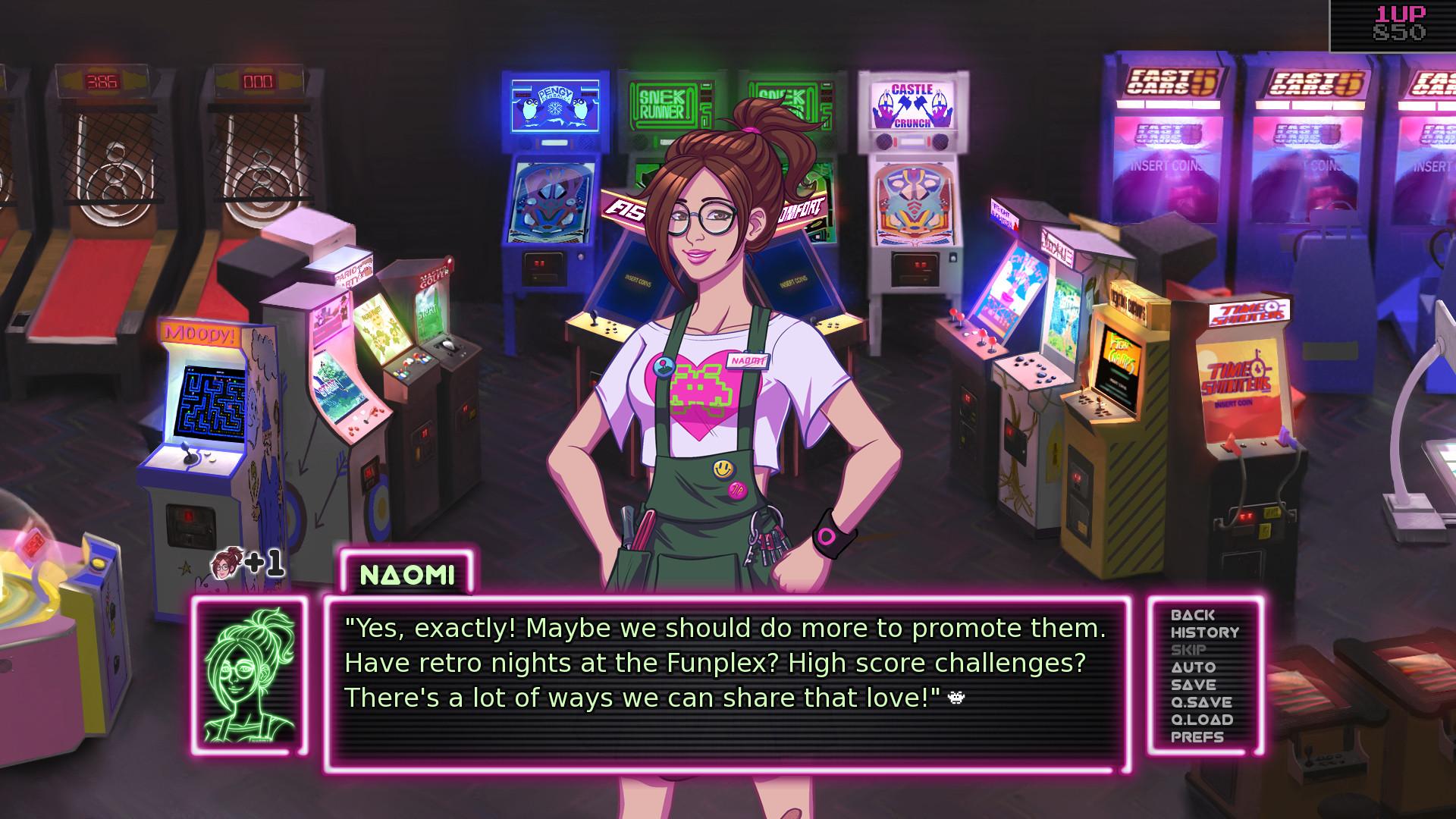 Arcade dating pelit
