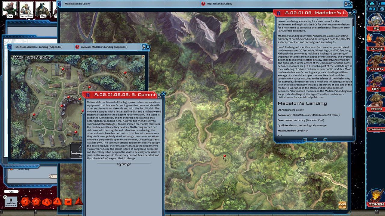 Fantasy Grounds - Starfinder RPG - Against the Aeon Throne AP 1: The Reach  of Empire (SFRPG)