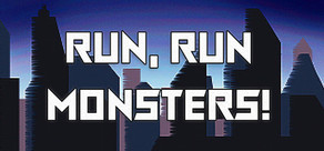 Run, Run, Monsters! cover art