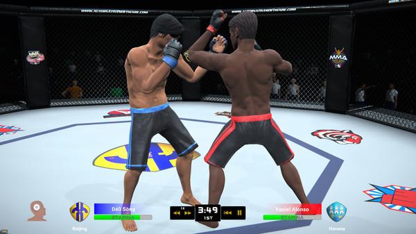 Скриншот из MMA Team Manager