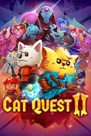 Cat Quest II poster image on Steam Backlog