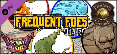 Fantasy Grounds - Frequent Foes, Volume 6 (Token Pack)