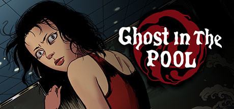 Ghost in the pool cover art