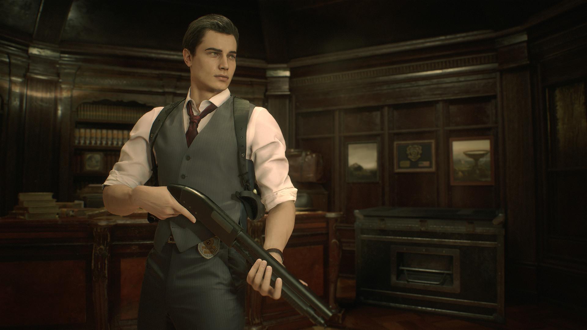 Resident Evil 2 Leon Costume Noir On Steam