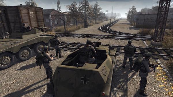 Скриншот №3 к Men of War Assault Squad 2 - Ostfront Veteranen