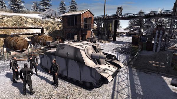 Скриншот №4 к Men of War Assault Squad 2 - Ostfront Veteranen