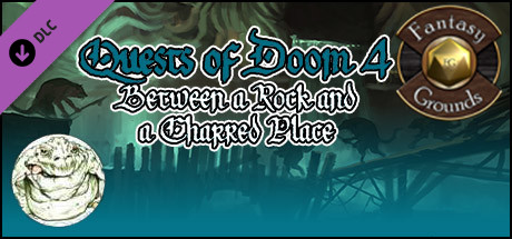 Fantasy Grounds - Quests of Doom 4: Between a Rock and a Charred Place (5E)