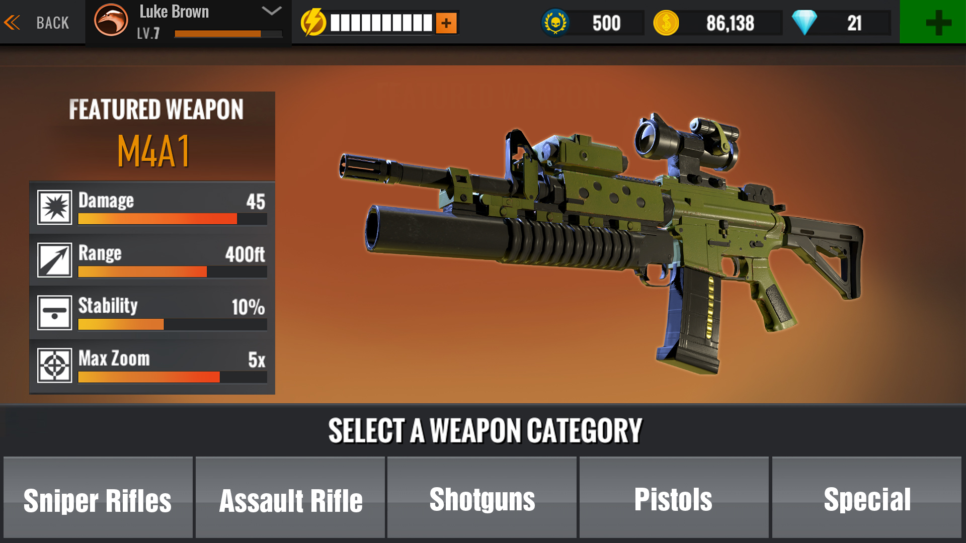 sniper 3d mod apk for ios
